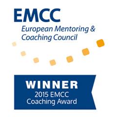 Eve Turner EMCC Coaching Award Winner