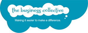The business collective logo